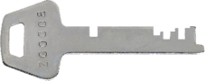 ZA, ZE, ZG, ZL Series Replacement Keys